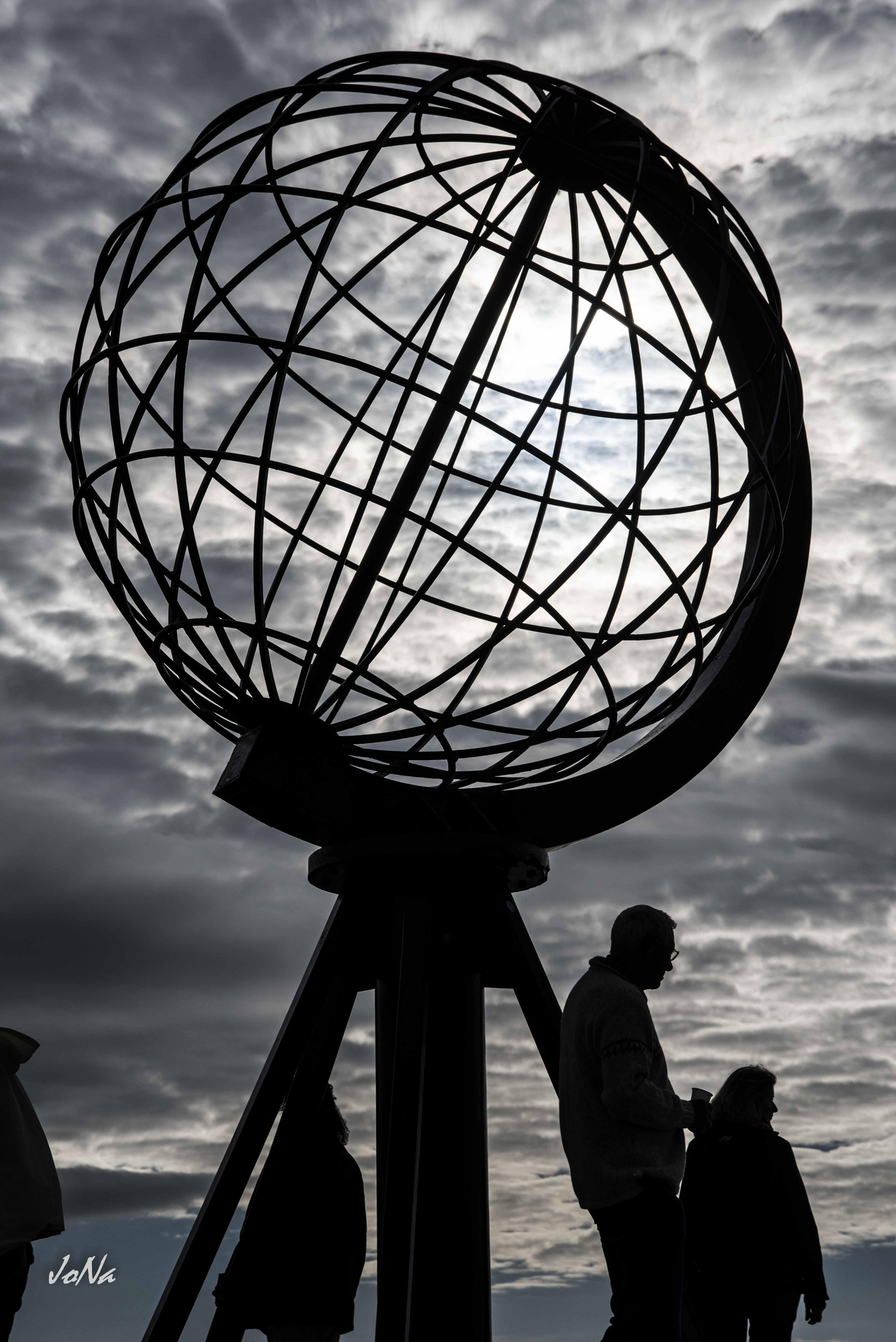 Denkmal am Nordkapp