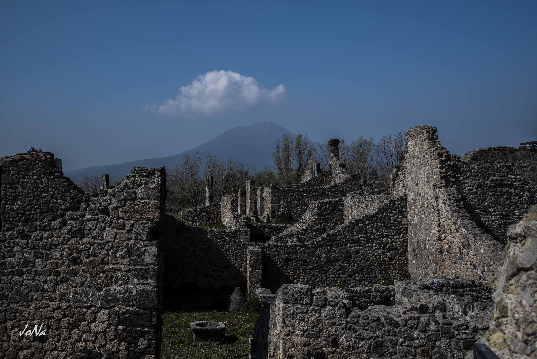Ruinen in Pompeji