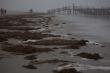 """""""Silvesterwetter"""" am Strand von St.Peter-Ording"""