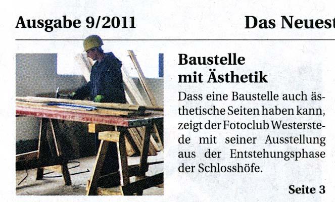 28.September 2011 ECE-Schlosshöfe Oldenburg