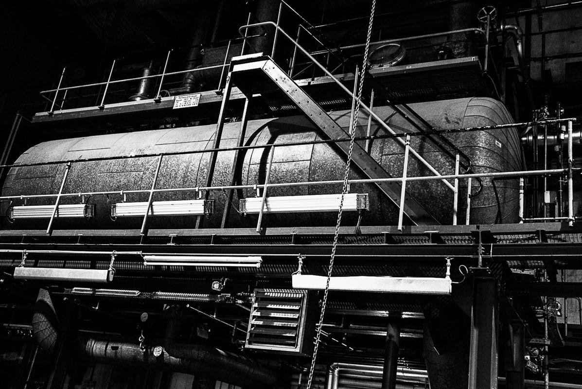 Dr. Eckart Walther: ehemalige - heute anders genutzte - Schlafwagenfabrik Neuaubing