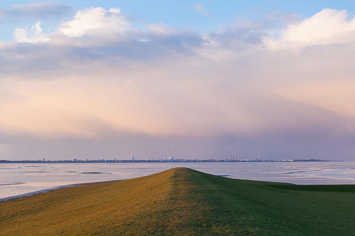 Reiner Scheuch: Horizont von Wilhelmshaven