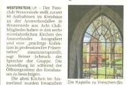 """""""Alte Kirchen im Ammerland"""" (Presseberichte NWZ & SONNTAGSZEITUNG Ammerland)"""